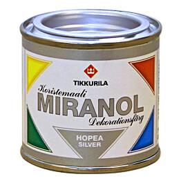 Koristemaali Miranol 0,1 l hopea