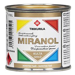 Koristemaali Miranol 0,1 l kulta