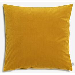 Samettityyny Lennol Helen 45x45 cm keltainen