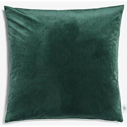 Samettityyny Lennol Helen 45x45 cm vihreä