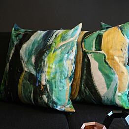 Koristetyynynpäällinen Liune Taidesisustus Green, 60x60cm