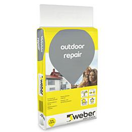 Korjaus- ja tasoituslaasti Weber Outdoor Repair 15 kg
