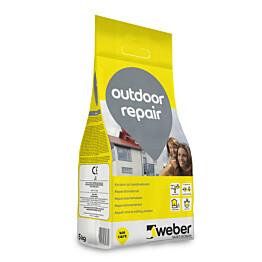 Korjaus- ja tasoituslaasti Weber Outdoor Repair 5 kg