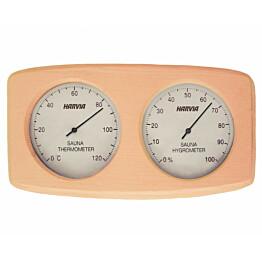 Kosteus- ja lämpömittari Harvia SAS92300