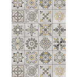 Kuitusementtilaatta Triofloor Micodur Stone Ornament, 7.5x460x920mm