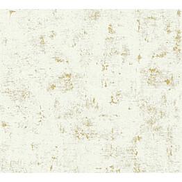 Kuitutapetti Vallila Make Up 230775, 0.53x10.05m, valkoinen/kultainen