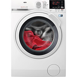 Kuivaava pyykinpesukone AEG L7WDB861G 8/4kg 1600rpm valkoinen