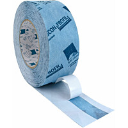 Kulmaliitosteippi Tescon Profil 60mm x 30 m 3-osainen suojapaperi 12/23/25 mm