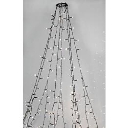 Kuusenvalosarja Star Trading Serie LED Crispy Ice White 360 valoa