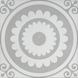 Kuviolaatta Pukkila Antique Bourgogne Grey himmeä 196x196 mm