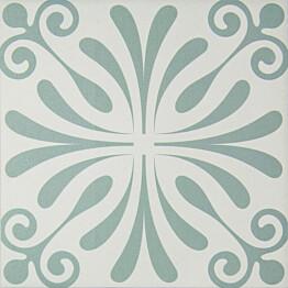 Kuviolaatta Pukkila Antique Siena himmeä 196x196 mm