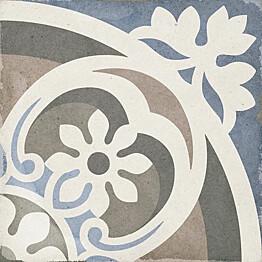 Kuviolaatta Pukkila Art Nouveau Music Hall himmeä sileä 200x200 mm
