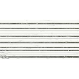 Kuviolaatta Pukkila Marble Boutique Bacchette Mix Freddo kiiltävä sileä 594x296 mm
