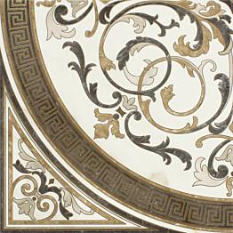 Kuviolaatta Pukkila Marble Boutique Rosone Caldo kiiltävä sileä 1190x1190 mm