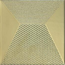 Kuviolaatta Pukkila Shapes Japan Gold himmeä sileä 250x250 mm
