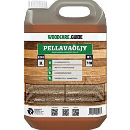 Kylmäpuristettu pellavaöljy Woodcare.guide 5l