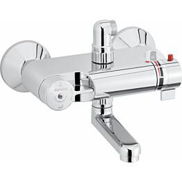 Kylpy/suihkutermostaatti, kuumavesisuojauksella