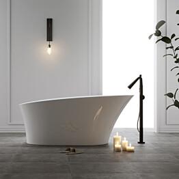 Kylpyamme Bathlife Chic, 1650x830mm, valkoinen