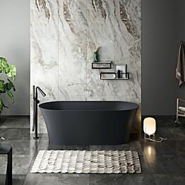 Kylpyamme Bathlife Förnuftig 1700x820 mm musta