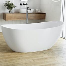 Kylpyamme Bathlife Fri, 1580x770mm, valumarmori