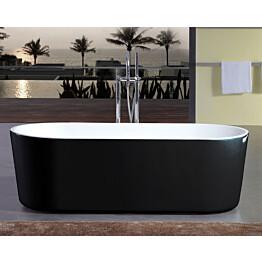 Kylpyamme-Bathlife-Ideal-Rund-1600-mm-vapaasti-seisova-musta