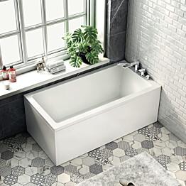Kylpyamme Bathlife Kry 1600x800 mm oikea valkoinen