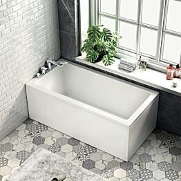 Kylpyamme Bathlife Kry 1600x800 mm vasen valkoinen