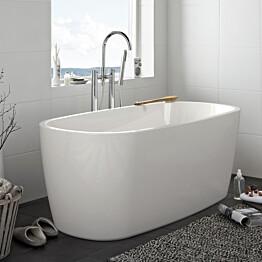Kylpyamme Sun Round 1600 valkoinen