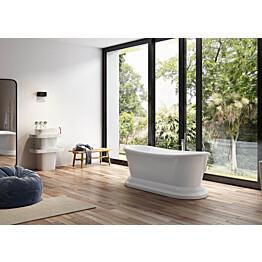 Kylpyamme Bathlife Avkoppling ovaali 1700x700x662 mm valkoinen