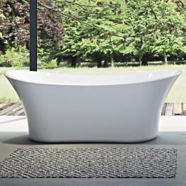Kylpyamme Bathlife Stadig 1800x800mm valkoinen