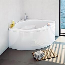 Kylpyamme Nordhem Glimminge Standard 1300x1300x600 mm kulmamalli valkoinen