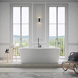 Kylpyamme Nordhem Österskär 1800x850x620 mm vapaasti seisova valkoinen