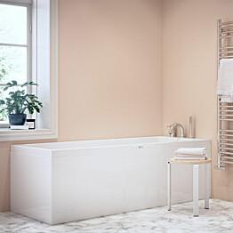 Kylpyamme Nordhem Saltholmen Standard 1800x800x590 mm valkoinen symmetrinen