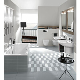 Kylpyamme Villeroy & Boch Architectura 1600x700 mm valkoinen
