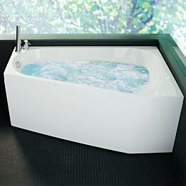 Poreamme Westerbergs Motion 160R Comfort 2.0 akryyli valkoinen oikea