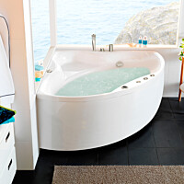Poreamme Westerbergs Ocean 150C Comfort 2.0 akryyli valkoinen