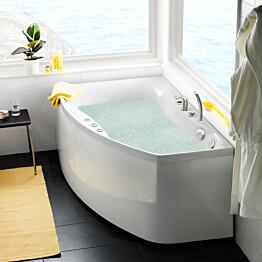 Poreamme Westerbergs Ocean 160R Comfort 2.0 akryyli valkoinen oikea