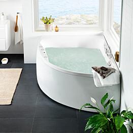 Poreamme Westerbergs Ocean 170R Duo Comfort 2.0 akryyli valkoinen oikea