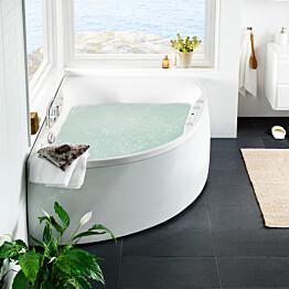 Poreamme Westerbergs Ocean 170L Duo Comfort 2.0 akryyli valkoinen vasen