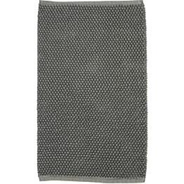 Kylpyhuoneen matto Olivia 50x80cm tummanharmaa