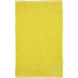 Kylpyhuoneen matto Tropiikki 70x110cm keltainen