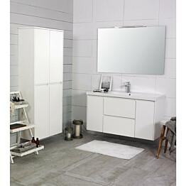 Kylpyhuonekaluste Noro Lifestyle Concept 1200 pesuallas + laatikosto + sivukaapit korkea