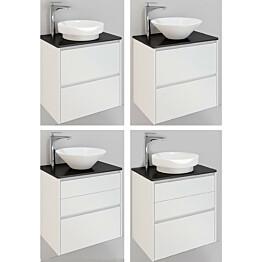 Kylpyhuonekaluste Noro Lifestyle Concept 600 malja-altaalla ja laatikostolla korkea