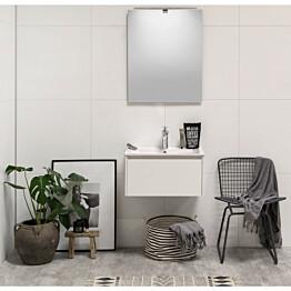 Kylpyhuonekaluste Noro Lifestyle Concept 600 pesualtaalla ja laatikostolla matala