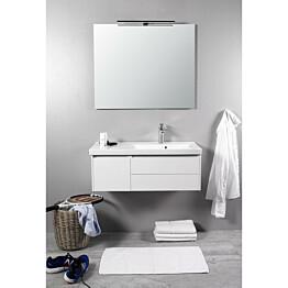 Kylpyhuonekaluste Noro Lifestyle Concept 900 pesualtaalla ja laatikostolla matala