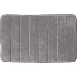 Kylpyhuonematto Pisla Sealskin Comfort 60x90 cm harmaa
