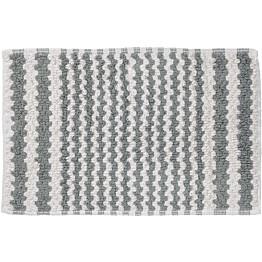 Kylpyhuonematto Pisla Sealskin Motif 50x80 cm harmaa