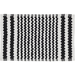 Kylpyhuonematto Pisla Sealskin Motif 50x80 cm musta