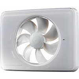 Kylpyhuonepuhallin Fresh Intellivent 2.0 valkoinen