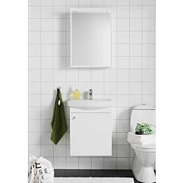 Kylpyhuoneryhmä Hafa Life 500 peilillä valkoinen ovi
